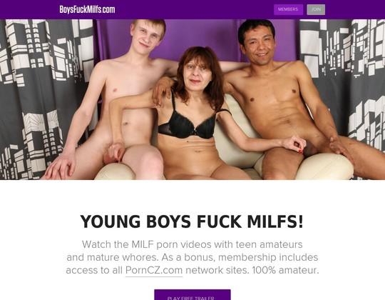 Boys Fuck MILFs