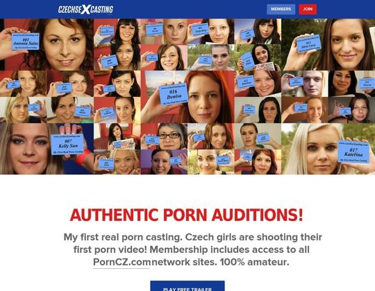 Czech Sex Casting