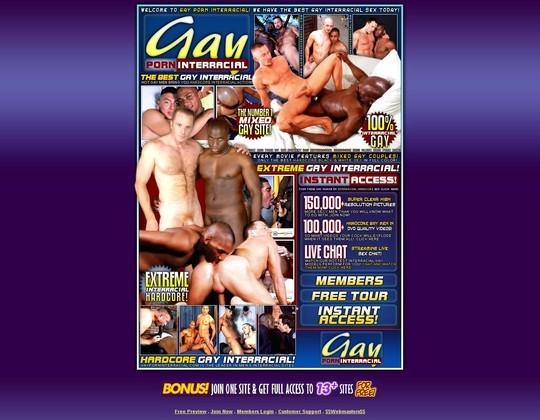 Gay Porn Interracial