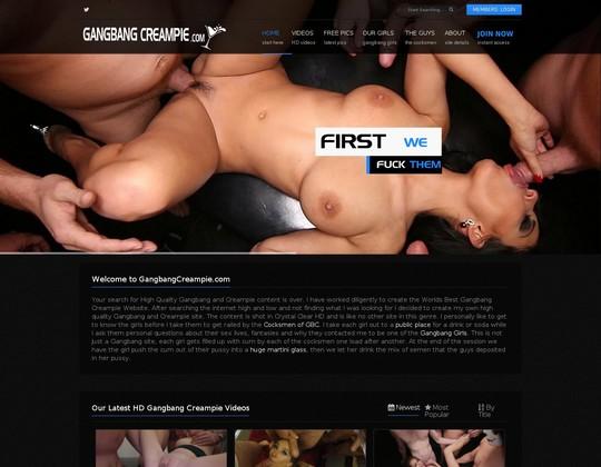 gangbangcreampie.com