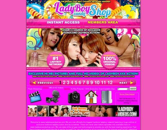 Ladyboy Candyshop