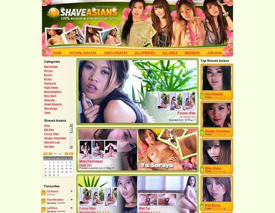 Shave Asians