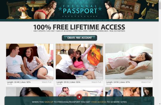 Free Anal Passport