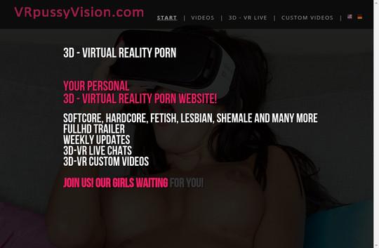 VR Pussy Vision