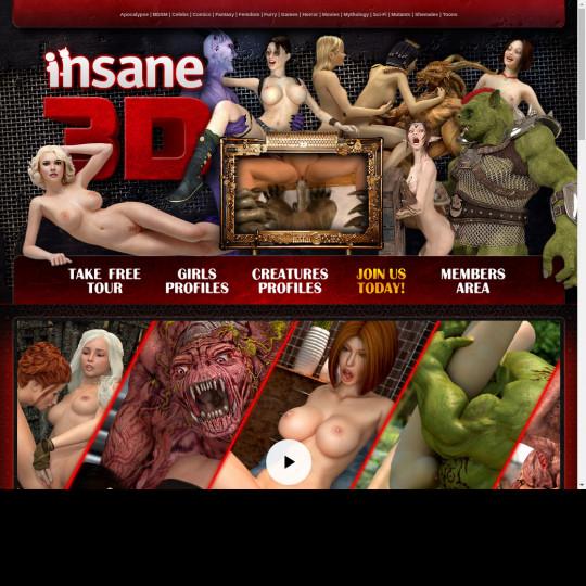 Insane 3 D
