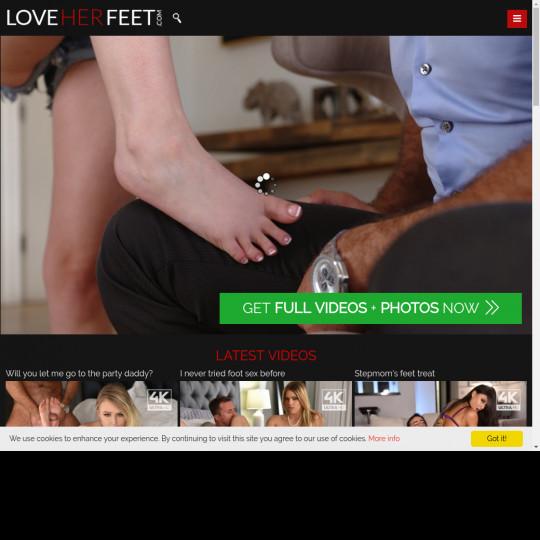 love her feet