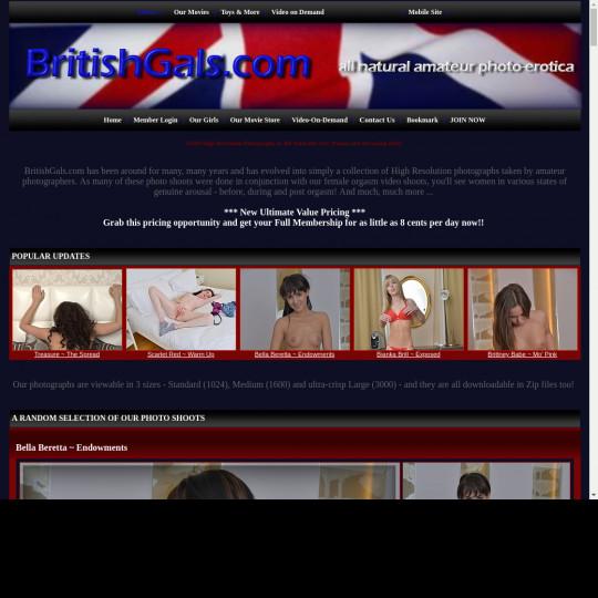 british gals